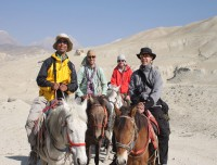 Horse Riding in Lo-Manthang